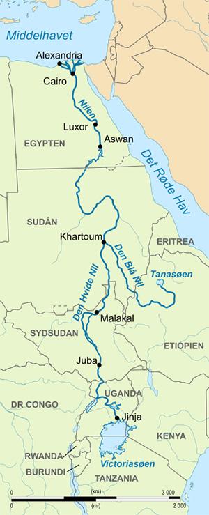 Udforskning Af Nilen Hele Verden I Skole