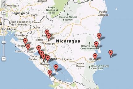 Fakta Om Nicaragua Hele Verden I Skole