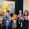 5. og 6. klasser fra Randersgades Skole på besøg hos Udviklingsministeren med et vigtigt budskab. Foto: Malene Aadal Bo