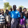 De fleste børn på skolen kommer fra Sydsudan. - Foto: Heidi Brehm