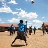 Når skolen slutter klokken 16, er der klub, hvor eleverne leger. - Foto: Heidi Brehm