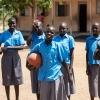 I klubben spiller de fodbold og netbold. Nogle gange laver de også teater, debathold eller øver musik og dans. - Foto: Emmanual Museruka