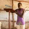 Innocent er sikker på, at gud reddede ham og hans familie fra tragedien i Sydsudan. Han beder til Gud hver dag og takker ham. - Foto: Emmanual Museruka