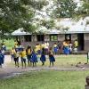 Nyirambere bor i en lille landsby i området Kibuga i det vestlige Uganda. De fleste mennesker her lever af at dyrke jorden. Mange børn kommer ikke i skole. De må blive hjemme og hjælpe i markerne. - Foto: Heidi Brehm