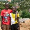 Trevor og Andrea er bedste venner. - Foto: Emmanual Museruka