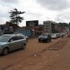 Trevor bor i udkanten af Kampala, som er hovedstaden i Uganda. Området, hvor Trevor bor, er roligt. I andre bydele er der mere larm og trafik. - Foto: Heidi Brehm