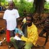 Djumansis far var stolt over, at hans familie var med i en bog  Foto: Dabire Akpieritiza