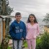 Yeini og Julian startede på skolen næsten samtidigt. De har støttet og hjulpet hinanden og er blevet rigtigt gode venner. – Foto: Andreas Beck