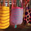 Wayuu folkets farvestrålende tasker - Foto: Heidi Brehm