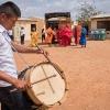 Der hører trommer til wayuu-dansen - Foto: Andreas Beck