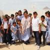 En stor gruppe elever fra Yuseths skole i La Guajira - Foto: Heidi Brehm