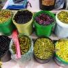 Der findes mange forskellige slags oliven. Hvis oliven plukkes før de er modne, er de grønne. De sorte oliven er de modne. I Jordan spiser man oliven til hummus som forret eller som en del af Mezze. Foto: Line Agerlin Trolle