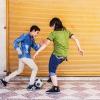 Mohammad kan godt lide at lege og spille fodbold med sine venner. Han er også meget glad for dyr. Han tager sig altid godt af fugle og katte, der ser sultne ud. Foto: William Vest-Lillesøe