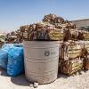 Munas mor arbejder på Za'ataris genbrugsplads. Hun skal lære de andre i lejren at sortere deres affald. Foto: William Vest-Lillesøe