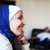 Ordet hijab betyder noget i stil med at tildække eller beskytte. Den bruges af mange muslimske kvinder for at skjule håret. Foto: William Vest-Lillesøe