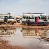 Det er svært at rejse i Sydsudan. Vejene er dårlige, og det er busserne også - foto: William Vest-Lillesøe