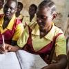 Kun halvdelen af alle børn i Sydsudan kommer i skole. Det er vigtigt at gøre noget ved. Der er brug for unge med en god uddannelse for at genopbygge landet efter mange års krig - foto: William Vest-Lillesøe