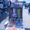 I flygtningelejren hvor Simon og Samuel bor, kan man købe slik fra den lille slikbutik - foto: William Vest-Lillesøe